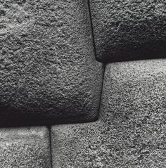 "stone wall, Sacsayhuaman, Cusco, Peru ""You can't even wedge a coin between these stones!"" by American photographer Aaron Siskind Ancient Mysteries, Ancient Ruins, Ancient Art, Ancient History, Aaron Siskind, Alien Theories, Texture Photography, White Photography, Mystery Of History"