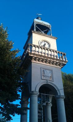The clock tower in the centre of Ioannina