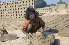 A 9-year-old girl makes bricks from morning to night, seven days a week. She was trafficked with her entire family from Bihar, India, and sold to the owner of a brick-making factory. With no means of escape, and unable to speak the local language, the family is isolated and lives in terrible conditions.