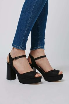 LIANA Mid Platform Sandals - Heels - Shoes - Topshop