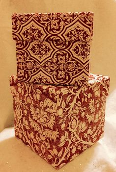 A personal favorite from my Etsy shop https://www.etsy.com/listing/255042647/pair-of-baroque-nesting-gift-boxes