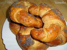 Domáce maslové lúpačky - makovky (fotorecept) - recept   Varecha.sk Dumplings, Pizza, Bread, Basket, Brot, Baking, Breads, Buns