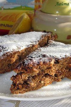 Кофейный монастырский пирог без растительного масла