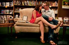 Urban Engagement Session, Tattered Cover Bookstore, Denver, CO