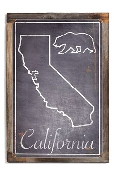 Free shipping and returns on PONCHO & GOLDSTEIN 'California Bear' Sign at Nordstrom.com. Celebrate The Golden State while adding a rustic touch to your décor with an artfully distressed wood-framed sign. All Poncho & Goldstein signs are sublimated, hand sanded and rusted before being mounted on a vintage-look frame made from reclaimed wood. Because of the company's unique distressing process, each sign comes out with a one-of-a-kind custom finish.