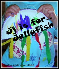 Creative and Curious Kids!: Jj is for Jellyfish