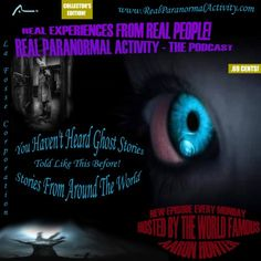 Listen to Me on Real Paranormal Activity – The Podcast! Real Paranormal, Real People, New Books, Activities, Logo, Logos, Logo Type, Environmental Print