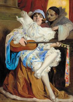Richard Geiger (1870-1945) - Pierrot and Columbine !  http://sd-5.archive-host.com/membres/playlist/92471911260242550/Connie_Francis/Connie_Francis_-_Bye_bye_Love.mp3