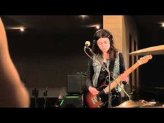 Blood Red Shoes perform Cold in session for Huw Stephens and Radio 1