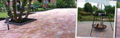 Trommelkassei - Kijlstra Bestrating Florence, Patio, Outdoor Decor, Home Decor, Decoration Home, Room Decor, Home Interior Design, Florence Italy, Home Decoration