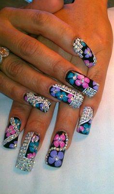 Bling! Nail Creation
