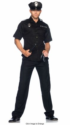 Cop Police Costume for Men for $49.95