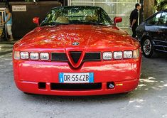 The Alfa Romeo SZ / RZ (Sprint Zagato) or ES-30 is a high-performance limited-production sports car built in 1989–1991 (SZ) 1992–1994 (RZ)   #Sexy #Sport #car #beautiful design #Car #Alfa #Romeo #hot wheels #hot #wheels #Visconti #supercar #italia #supersport #Q2 #Q4 #GT #GTV #Brera #156 #155 #166 #159 #33 #4C #SZ #RZ #8C #GTA #JTD #JTS #Spider #Giulietta #MiTo #Arna #Sprint #Alfetta #Alfasud #Montreal #Giulia #RL #6C #TI #TBI #Quadrifoglio #Crosswagon Q4  アルファロメオ #StanPatzitW