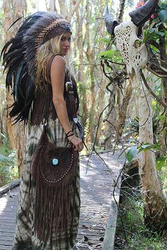 feathers and fringe