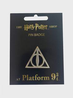 Deathly Hallows Pin Badge | The Harry Potter Shop at Platform 9 3/4
