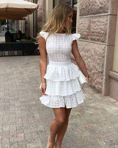 Vestido Midi Bordado Laise Brando Estacao Store