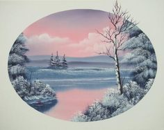 bob ross painting -