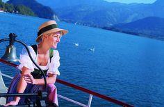 Schifffahrten am Wolfgangsee Visit Austria, Vienna Austria, Heart Of Europe, Central Europe, In The Heart, Alps, Panama Hat, The Good Place, Explore