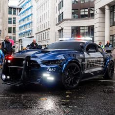 What #Barricade will look like in the new #Transformers movie! Tag your images, #MustangFanClub #S550FanCkub for a chance to be featured!