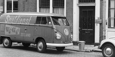 SNELDIENST Vw Bus, Volkswagen Type 2, Signwriting, Porsche, Camper, Automobile, T1 T2, Van, Album
