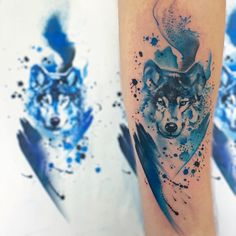 Animals Tattoos Resemble Adorable Watercolor Paintings