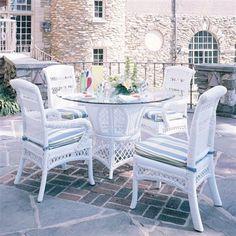 South Sea Rattan U0026 Wicker Furniture Carlyle Outdoor Dining Set