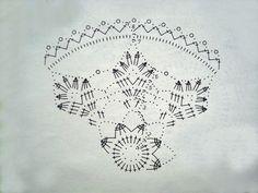 Crochet Diagram, Crochet Chart, Thread Crochet, Crochet Motif, Crochet Doilies, Crochet Stitches, Knit Crochet, Crochet Patterns, Christmas Globes