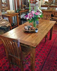 Reclaimed Teak Dining Table (3u0027 X 6u0027) Made From Old Growth Teak
