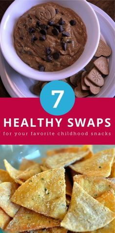 7 Healthy Swaps for Your Favorite Childhood Treats