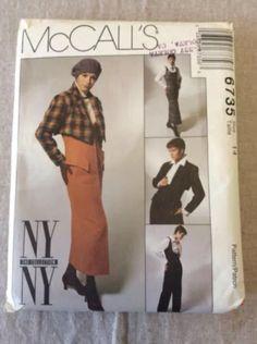 McCalls 6735 NY NY The Collection