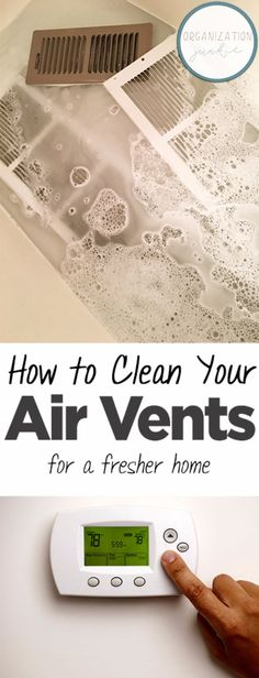 Cleaning Tips and Tricks - Clean Your Air Vents for a Fresher Home - Best Cleaning Hacks, Recipes an Deep Cleaning Tips, House Cleaning Tips, Cleaning Solutions, Cleaning Hacks, Spring Cleaning Tips, Cleaning Supplies, Cleaning Challenge, Organizing Tips, Cleaning Products