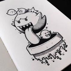 Another Art I Developed - Super Mario Budgets by W .- Mais Uma Arte Que Desenvolvi – Super Mário Orçamentos pelo WhatsApp Another Art I Developed – Super Mario Budgets by WhatsApp 035987164758 ⬇️⬇️ tattoo… - Weird Drawings, Trippy Drawings, Cool Art Drawings, Pencil Art Drawings, Art Drawings Sketches, Cartoon Drawings, Graffiti Art, Graffiti Doodles, Graffiti Drawing