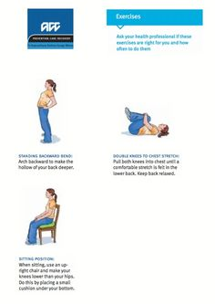 1000 images about exercises for sciatica on pinterest