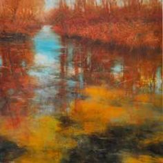 'Shorline Tidepools' by David Dunlop. David teaches @ Silvermine Arts Center, New Canaan, CT & hosts PBS' 'Landscapes Through Time' series.