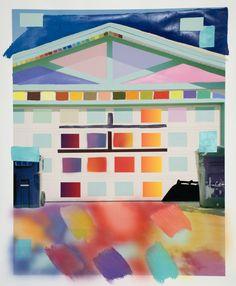 """""""Garage,"""" by Sam Falls."""