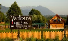 #Vampire Camping in Transylvania Why wonder? After all, the legend says he lived there. But he didn't. He was the prince of Walachia.