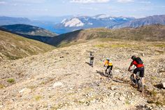 Views from the best mountain biking trails in Whitehorse. Photo by Dan Barham