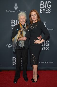 Margaret Keane  and  Amy Adams attend The Weinstein Company's 'Big Eyes' Los Angeles special screening in partnership with Lexus at Ace Hotel on December 9, 2014 in Los Angeles, California