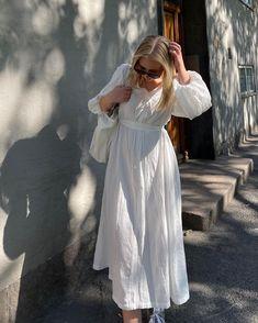 "Sophie Moss on Instagram: ""In my favourite dress 🤍🤍"""
