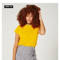 Teeshirt simple jaune Jennyfer  | @giftryapp