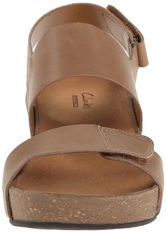 e43f18dce86f7 Clarks Women s Auriel Fin Wedge Sandal -- Read more reviews of the product  by visiting the link on the image. (This is an affiliate link)  sandals
