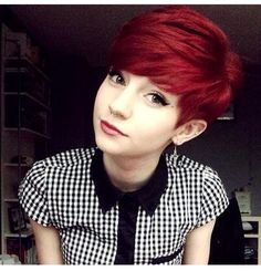 Love short hair <3