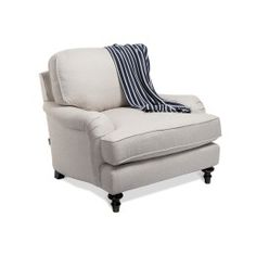 Sloane English Roll Arm Occasional Chair - Occasional Chairs - Chairs - Furniture