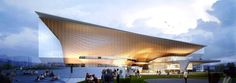 Sejong Art Center Winning Proposal,Courtesy of DMP Partners