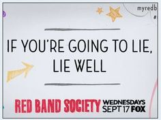 #redbandsociety #rbs #quote http://kernelcritic.com/red-band-society-season-1-episode-1/
