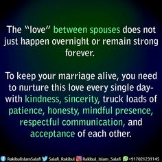 Marriage Messages, Singles Day, Honesty, Acceptance, Ministry, Patience, Islamic, Communication, Truck