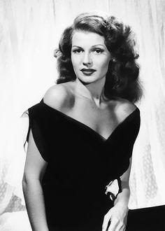 Rita Hayworth photographed by Philippe Halsman, 1943