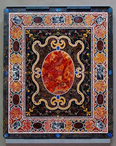 Pietre Dure Tabletop, Italian, Florence or Rome, c. 1580 1600