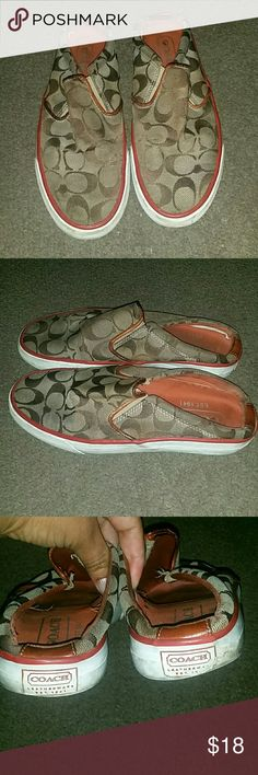 Coach shoes In good condition Coach Shoes