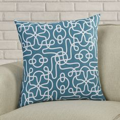 Found it at Wayfair - Peterson Reversible Cotton Throw Pillow